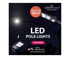Save More Energy By Installing (Commercial LED Pole Lights)