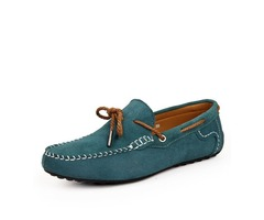 Suede Thread Slip-On Mens Driving Shoes