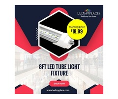 8ft LED Tube Lights are Better Replacement for Old LED Lights