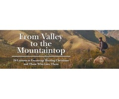 From Valley to the Mountaintop – Religion and Faith book