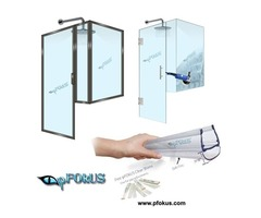 Glass Shower Enclosures - Frameless Shower Enclosures | pFOkUS