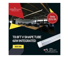 Save 90% Electricity by Using t8 8ft 60w LED Integrated Tubes