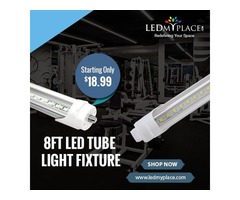 8ft LED Tube Lights are Better Replacement for Fluorescent Tubes