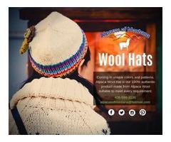 Alpaca Wool Hats | Winter Hats - Alpacas of Montana