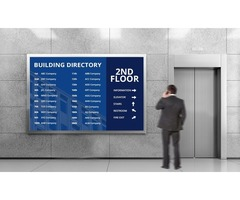 Signage Solution for all Corporate needs