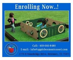 Montessori School for your child – Applebee Academy