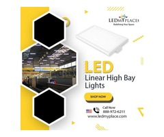(LED Linear High Bay Lights) - Best Lighting For Big Commercial Places