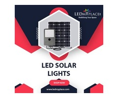 Saves 100% Electricity Bills With the Help of LED Solar Lights
