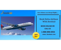 Book cheap Delta Flight With ibookair