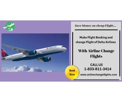 Delta Air-Line Change Flight