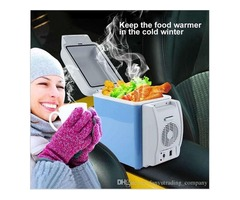 Portable Multifunction Car Refrigerator Cooler-Warmer 12V 7.5L Capacity fishing and cycling travel H