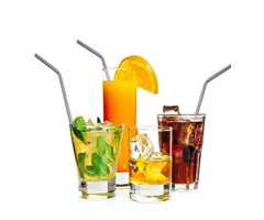 200pcs Stainless Steel Drinking Straws 304 Eco Friendly Free Collocation Set Reusable Straight Bent