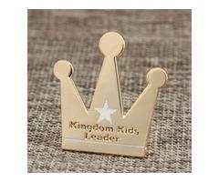 Cute Crown Custom Lapel Pins