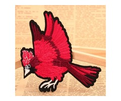 Cardinalis Make Embroidered Patches