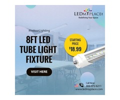 Illuminate your Offices with Best 8ft LED Tube Light Fixtures