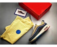 Sean Wotherspoon x 97/1 VF SW Hybrid Men Women 97 Running Shoes Corduroy Rainbow Authentic Snea