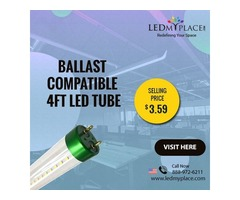 Buy Now the Best Ballast Compatible T8 LED Tube Lights