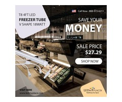 Grab Now the Best LED Freezers Tubes on Discounted Price From LEDMyplace