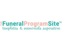 Design the funeral brochure impressively