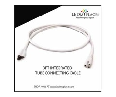 Use Correct Lighting Accessories - 3FT integrated connecting cable