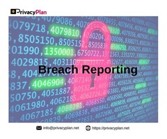 Breach Reporting services by PrivacyPlan