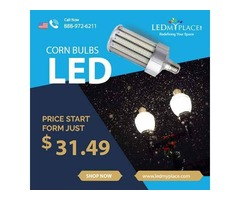 Get More Brightness By Installing (LED Corn Bulbs) At Your Place