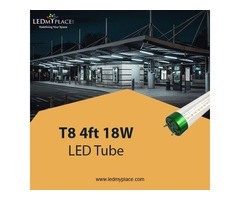 Grab Now T8 4ft 18W LED Tube Lights and Save on Energy Bills