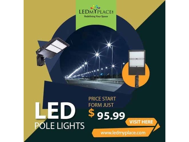 Best Quality (LED Pole Lights) To Light Up Your Surroundings | free-classifieds-usa.com