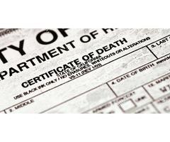 Obtain Public Death Records in North Dakota