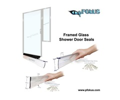 Best Framed Glass Shower Door Seals - Curved Shower Screen Seals | pFOkUS