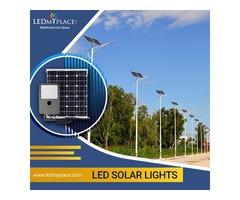 Choose the Best 100% Energy-Efficient LED Solar Light