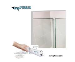 Shower Door Bottom Seal - Frameless Door Seals | pFOkUS