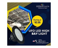 Switch To Greener Forms Of Lights By Using (LED UFO High Bay Lights)