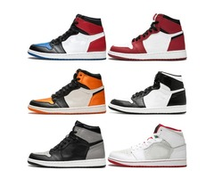 Top 3 Mens 1 OG Basketball Shoes AAA Quality Homage to Home Chicago Barons Bred Triple Black White T