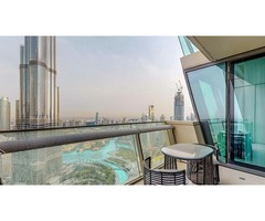 Immaculate 3 Bedroom Apartment with Burj Khalifa View