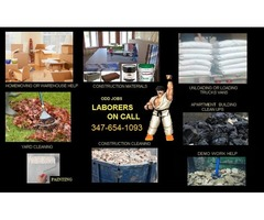 Experienced laborers help on call anytime. Odd jobs.