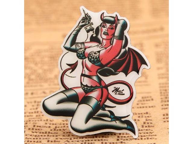 Custom Strong Girl Pins   free-classifieds-usa.com