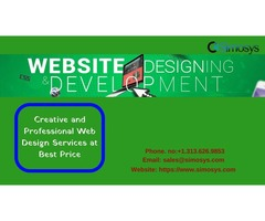 Creative and Professional Web Design Services at Best Price