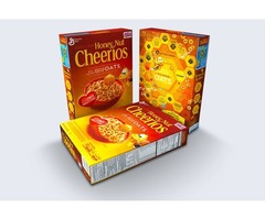 Create your design and get Custom cereal box Wholesale