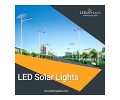 Reduce Carbon Footprints by Using LED Solar Lights