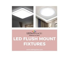 Have a beautiful Interior By (LED Flush Mount Lights)