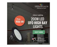 Save Your More Money By Using (200W LED UFO High Bay Light)