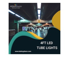 4ft LED Tube Lights are the Best Replacement for LED Fluorescent Tubes