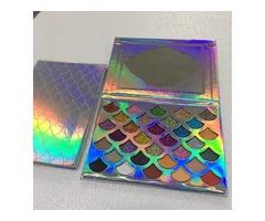 2019 New Fashion Women Beauty Cleof Cosmetics The Mermaid Glitter Prism Palette Eye Makeup Eyeshadow