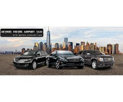 Detroit Metro Airport Cab Service| Limo Service
