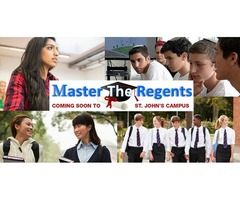 """""""Don't just pass the NYS Regents, MASTER it!"""""""