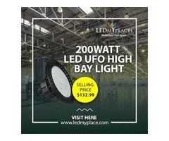 Install (200W UFO LED High Bay Lights) To Illuminate High Ceiling Places