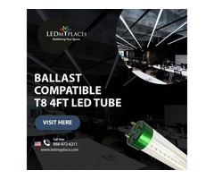 Install Best Ballast Compatible LED Tubes that Needs No Changes in the Power Supply