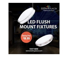 (Flush Mount Ceiling Light) is the Most Ambient Lighting Fixtures