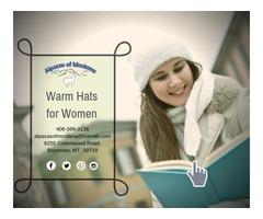 Warm Hats for Women | Alpacas of Montana